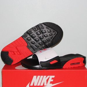 Nike Air Max 90 Slides Chile Red Women 6 7 Sandals